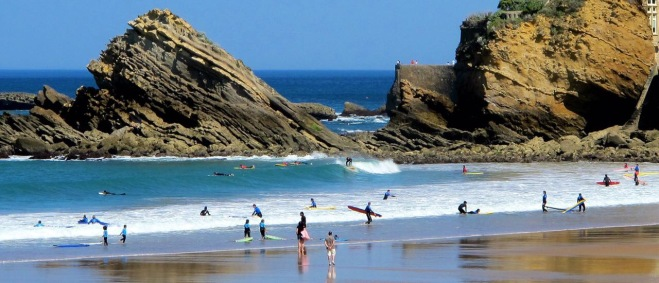 surf in francia